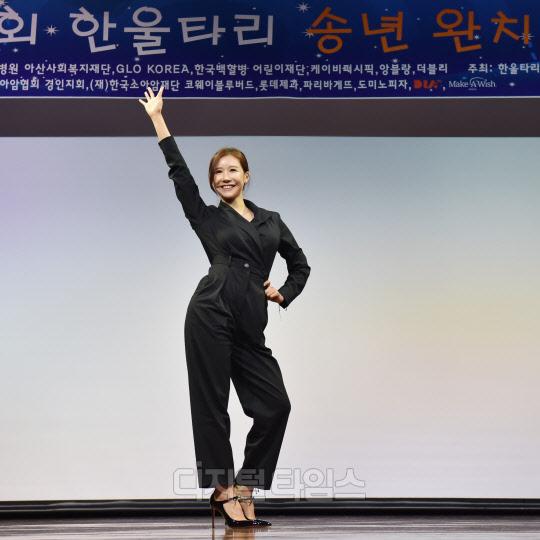 [포토]머슬마니아 최애정, 소아암 환우 완치 위한 공연